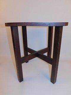 ARTS & CRAFTS TABORET TABLE
