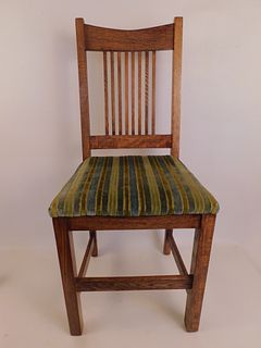 ARTS & CRAFTS CHAIR BY LEAVENS