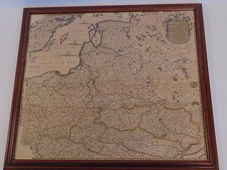 1680 F. DEWIT MAP UKRAINE
