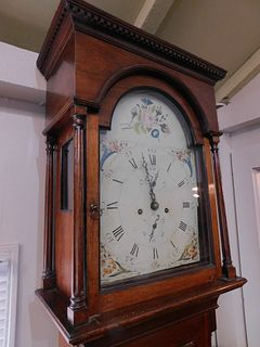 CA 1820 AMERICAN TALL CLOCK