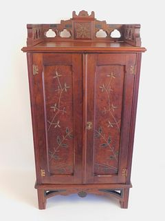 VICTORIAN AESTHETIC MUSIC CABINET