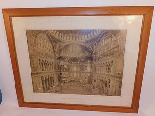 LARGE FRAMED PHOTO OF MOSQUE