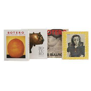 Catálogos Razonados sobre Botero. a) Botero: The Bullfight. b) Botero: Sculpture. Piezas: 4.