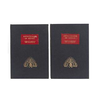 Antigüedades de México. Kingsborough, Lord. México: Secretaría de Hacienda y Crédito Público, 1964. Primera edición. Piezas: 2.