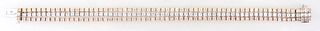 14K Yellow, White and Rose Gold Three Strand Link Bracelet, each of the 63 link strands with a small round diamond, 189 diamonds, total diamond wt.- 9