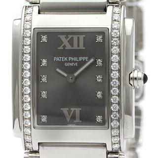 Patek Philippe Quartz Stainless Steel Women's Dress Watch 4910/10A-001
