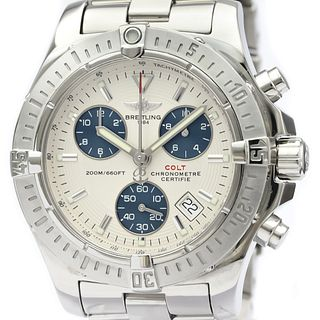 BREITLING Colt Chronograph Steel Quartz Mens Watch A73380