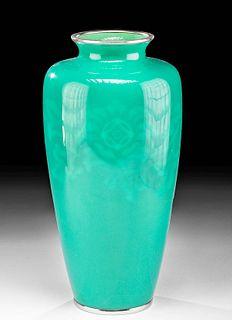 Vintage Japanese Ando Jubei Cloisonne Enamel Vase