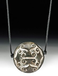 Chinese Ming Dynasty Stone Pendant