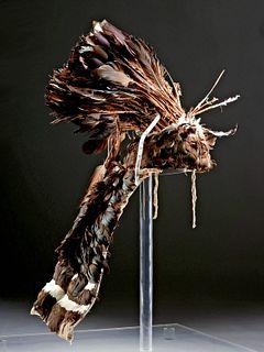 Early 20th C. Ifugao Feather Headdress
