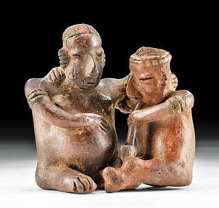Nayarit Pottery Couple w/ Pipe