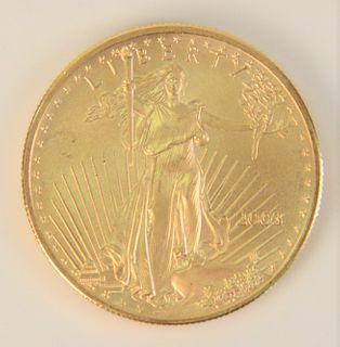 Gold Eagle, 1 oz. gold.