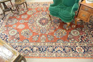 "Kazvin Oriental Carpet, 8' 8"" x 12'."