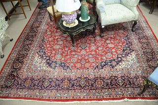 "Oriental Carpet, 9' 9"" x 13'."