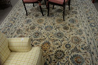 "Oriental Room Size Carpet 8' 10"" x 13' x 4."""