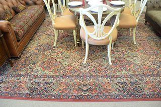 "Karastan Oriental Carpet, 11' 6"" x 16'."