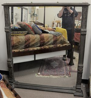 "Two Large Mirrors, to include one Victorian, 58"" x 48""; along with one gilt, 69"" x 53""."