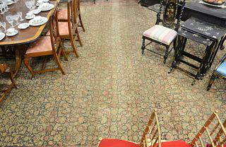"""Oriental Carpet, 10' 3"""" x 19' 10"""", (some wear and fading). Provenance: Former home of Mel Gibson, Old Mill Rd, Greenwich, Connecticut."""