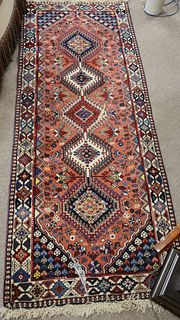"""Two Oriental Scatter Rugs, 2' x 4' and 2' 7"""" x 6' 8"""". Provenance: From the Robert Circiello Collection, West Hartford, Connecticut."""