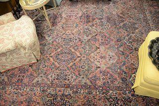 "Karastan Oriental Carpet, 11' 5"" x 16'."