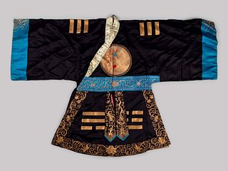 An Embroidered Silk Theatrical Robe for a Daoist Priest
