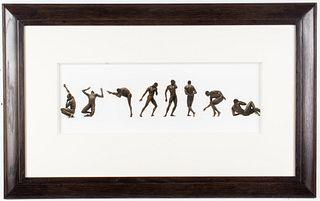 Herb Ritts Platinum Print, Bill T. Jones I-VII