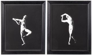 David Seidner Gelatin Silver Print, Dancer Diptych