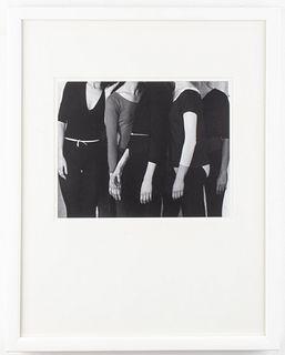 Judy Tomkins Gelatin Silver Print Merce Cunningham