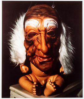 Cindy Sherman C-Print, Mask Over Baby Doll