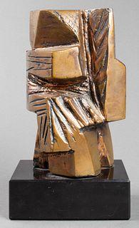 "Abbott Pattison ""Firenze"" Modern Bronze Sculpture"