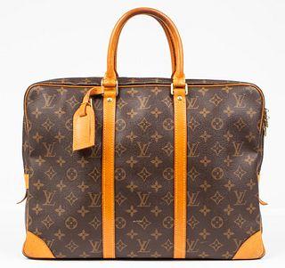 Louis Vuitton Brown Monogram Briefcase