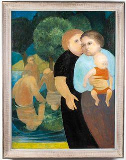 "Jen Snodgrass ""Summer Afternoon"" Oil on Canvas"