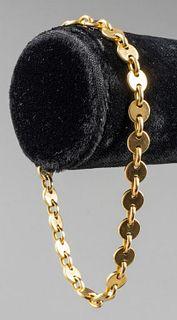 Cartier 18K Yellow Gold Sphere Link Bracelet
