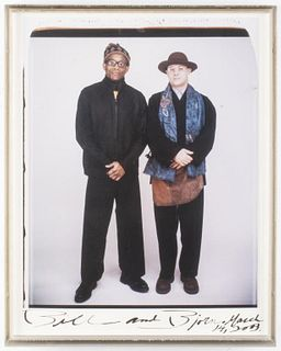 Elsa Dorfman C-Print, Portrait of Bill And Bjorn