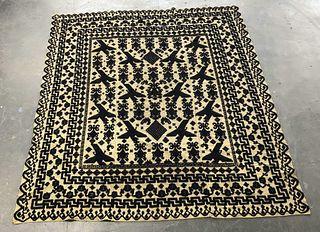 Persian Tribal Rug, 8' x 9'