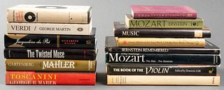 Group Of Books On Music And Musicians, 14