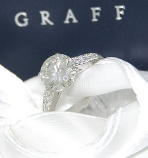 2.75tcw Graff Diamond Ring Retail: $90,000