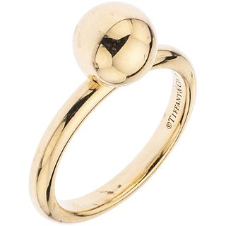 RING IN 18K YELLOW GOLD, TIFFANY & CO., HARDWEAR COLLECTION  Weight: 4.4 g. Size: 5