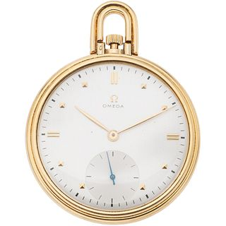 OMEGA POCKET WATCH IN 14K YELLOW GOLD REF. 1143 Movement: manual. Weight: 64.0 g