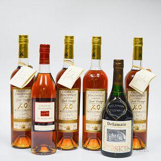 Mixed Cognac, 6 750ml bottles