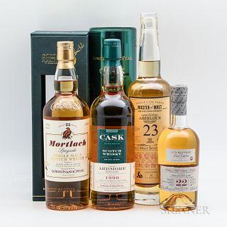 Mixed Single Malt, 2 750ml bottles 1 70cl bottle 1 375ml bottle