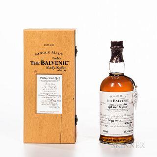 Balvenie 31 Years Old 1966, 1 750ml bottle (owc)