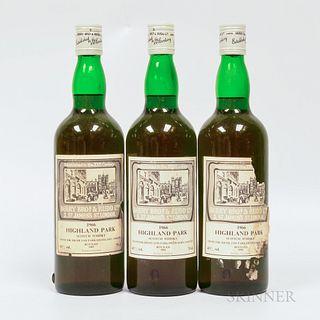Highland Park 1966, 3 750ml bottles