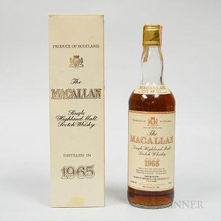 Macallan 17 Years Old 1965, 1 750ml bottle (oc)