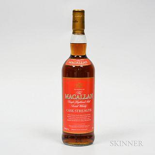 Macallan Cask Strength, 1 750ml bottle