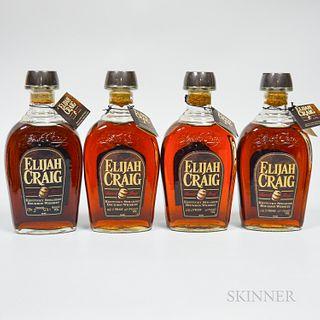 Elijah Craig Barrel Proof, 4 750ml bottles
