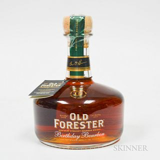 Old Forester Birthday Bourbon 12 Years Old 2002, 1 750ml bottle