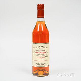 """Van Winkle Special Reserve 12 Years Old Lot """"B"""", 1 750ml bottle"""