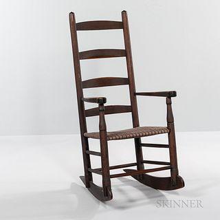 Shaker Rocking Armchair,19th century