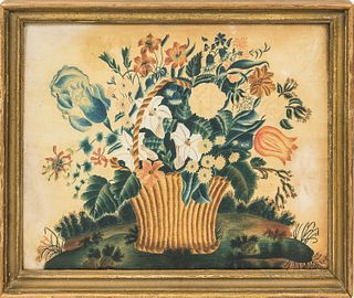 Framed Floral Theorem,late 19th century